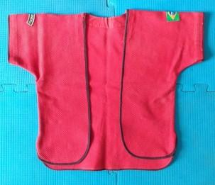 Jiaoyi de trançado vermelho usado no Pan-americano de 2006 no Canadá