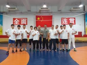 Conhecendo o CT e a equipe de Beijing com Mestre Ma Jianguo