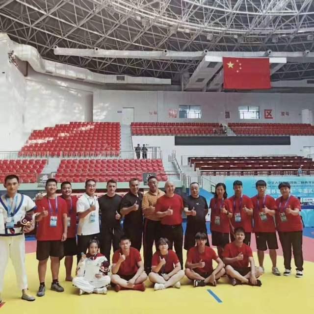 Em Daixian com integrantes do Beijing team na cidade da provincia de Shangxi